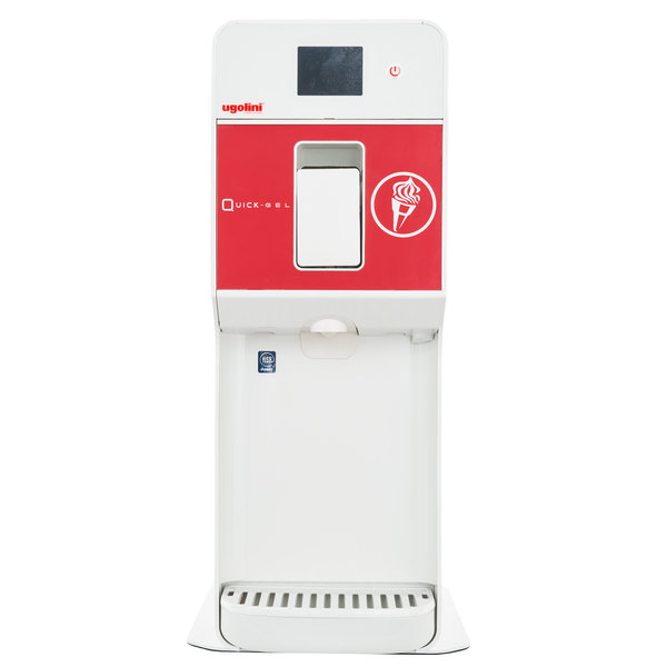 Cecilware 2006-10000 QuickGel 1 Gallon Soft Serve Machine/Frozen Product Dispenser - 115V