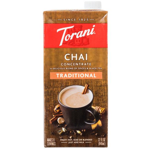 Torani 32 oz. Traditional Chai Tea Concentrate