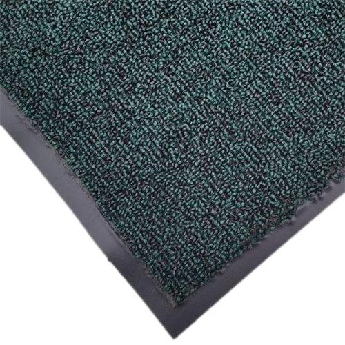 """Cactus Mat 1471M-G46 4' x 6' Green Olefin Carpet Entrance Floor Mat - 3/8"""" Thick"""
