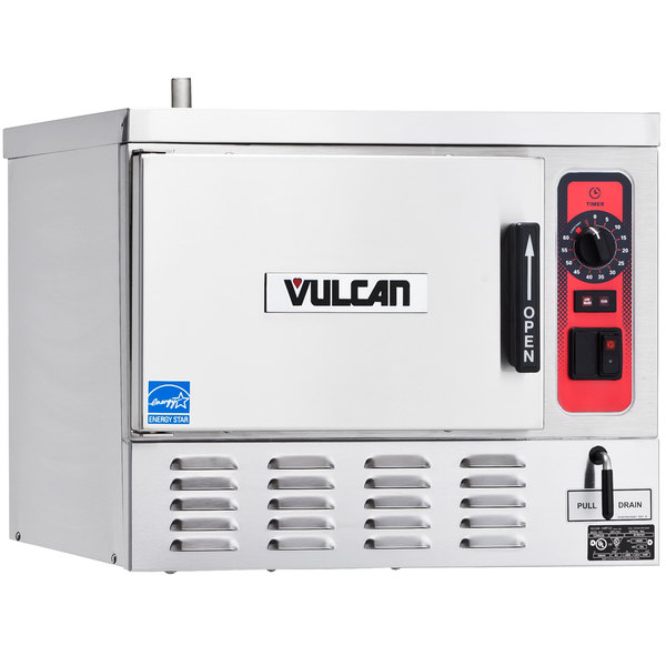 Vulcan C24EO5-1 5 Pan Boilerless/Connectionless Electric Countertop Steamer - 208V, 12 kW Main Image 1