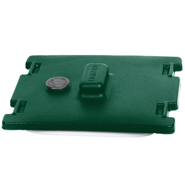 Cambro 6316519 Kentucky Green Camtainer Lid with Vent and Gasket