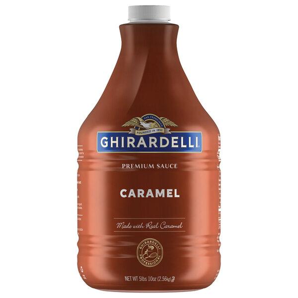 Ghirardelli 64 fl. oz. Caramel Flavoring Sauce Main Image 1