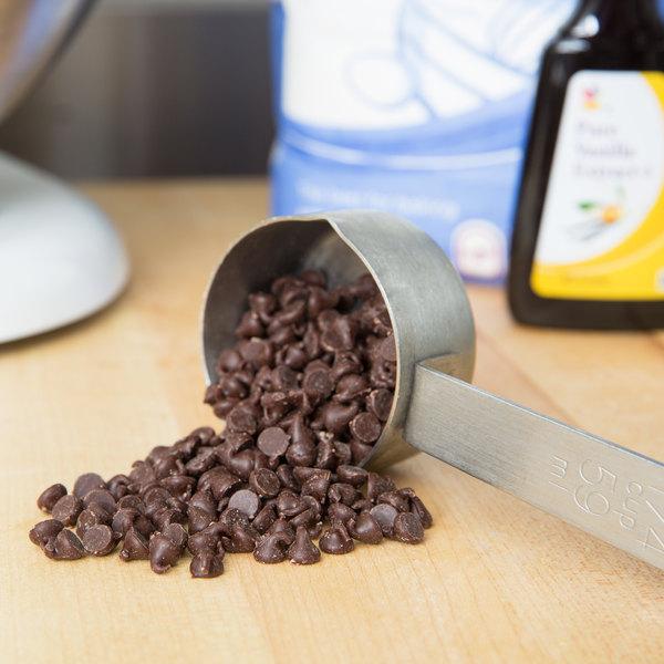 Ghirardelli 25 lb. Semi-Sweet Chocolate 4M Baking Chips Main Image 3