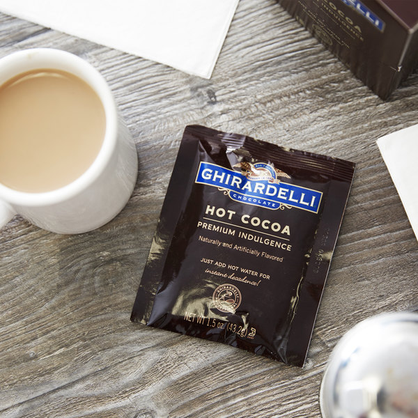 Ghirardelli Premium Hot Cocoa Mix Packets - 15/Box