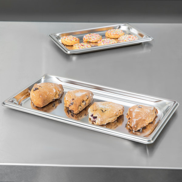 "Vollrath 90302 Super Pan 3® 1/3 Size Anti-Jam Stainless Steel Steam Table Tray - 3/4"" Deep"