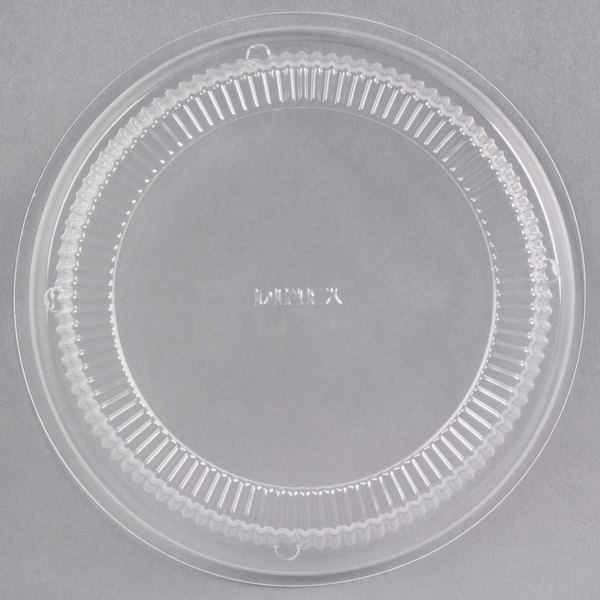Dinex DX11890174 Classic Clear Disposable Tulip Bowl Dome Lid - 1000/Case
