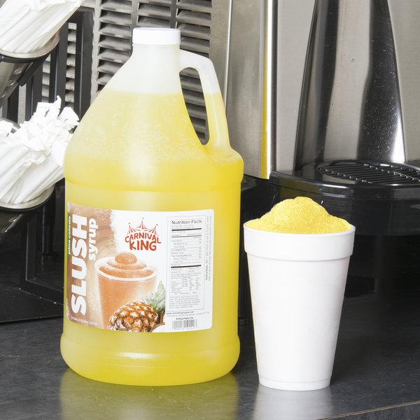 Carnival King 1 Gallon Pina Colada Slushy Syrup Main Image 2