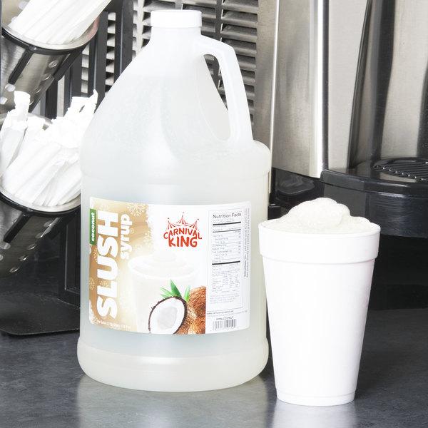 Carnival King 1 Gallon Coconut Slushy Syrup