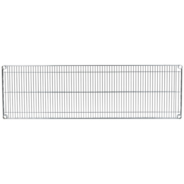 "Metro 1860NS Super Erecta Stainless Steel Wire Shelf - 18"" x 60"""