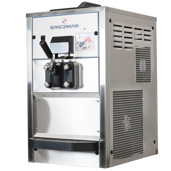 Spaceman 6228AH Soft Serve Ice Cream Machine with Air Pump and 1 Hopper - 208/230V