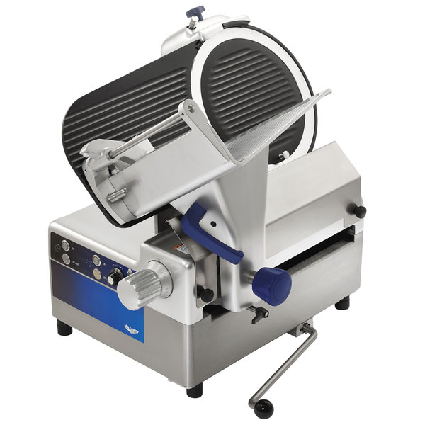 "Vollrath 40954 12"" Heavy Duty Automatic Meat Slicer with Safe Blade Removal System - 3/4 hp Main Image 1"