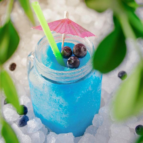 Carnival King 5 Gallon Bag in Box Blue Raspberry Slushy Syrup Main Image 4