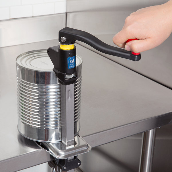 "Vollrath BCO-2000 Redco EaziClean Heavy Duty Can Opener with 16"" Bar"