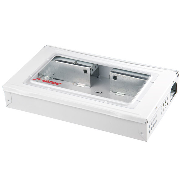 JT Eaton 420CL-WH White Repeater Multiple Catch Mouse Trap with Clear Lid