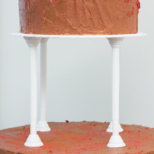 Wilton 303-4001 Baker's Best Disposable Cake Pillars - 4/Pack