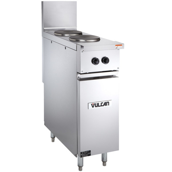 """Vulcan EV12-2FP4803 Endurance 12"""" Electric Range with 2 French Plates - 480V, 3 Phase, 4 kW"""