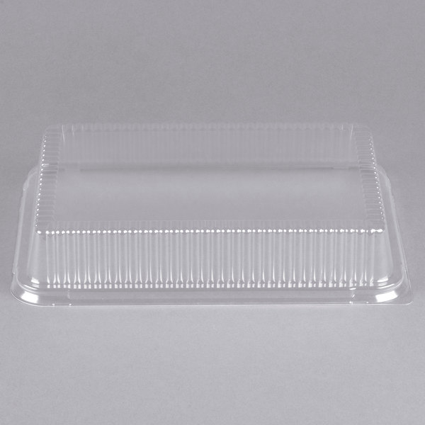 D&W Fine Pack 37092510 1/4 Sheet Cake Plastic Dome Cover - 100/Case
