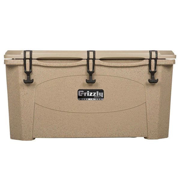 Grizzly Cooler 75 Qt. Sandstone Extreme Outdoor Merchandiser / Cooler
