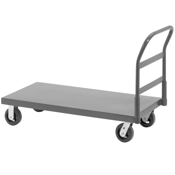 """Channel PT2448 50"""" x 24"""" Platform Truck with Removable Handle - 2000 lb. Capacity"""