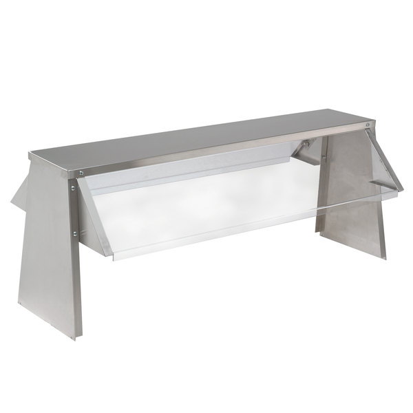 "Advance Tabco TBS-6 Buffet Shelf with Sneeze Guard - 10"" x 93 1/8"" Main Image 1"