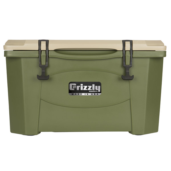 Grizzly Cooler 40 Qt. Olive Green Extreme Outdoor Merchandiser / Cooler