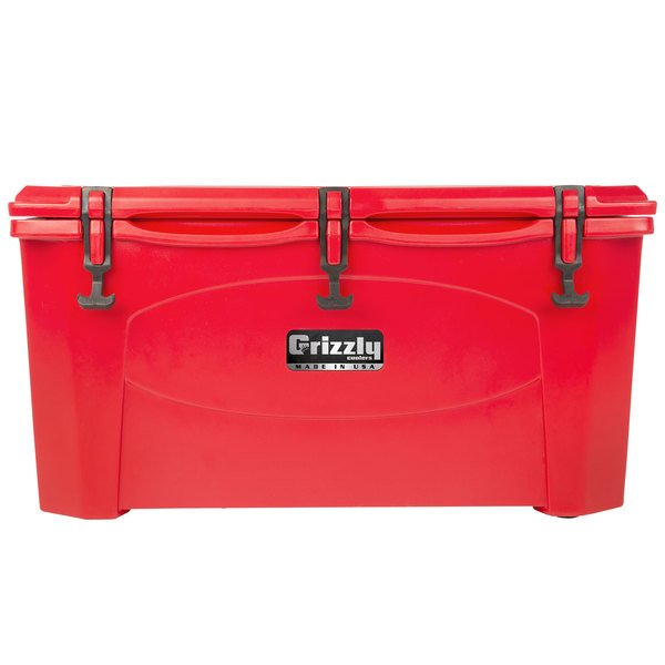 Grizzly Cooler 75 Qt. Red Extreme Outdoor Merchandiser / Cooler
