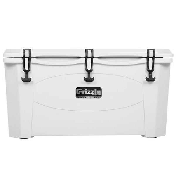 Grizzly Cooler 75 Qt. White Extreme Outdoor Merchandiser / Cooler