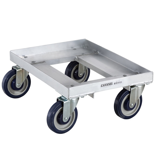 """Channel MC1319 13"""" x 19"""" Milk Crate Dolly - 1 Stack Capacity Main Image 1"""