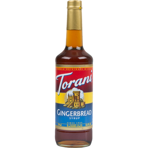 Torani 750 mL Gingerbread Flavoring Syrup