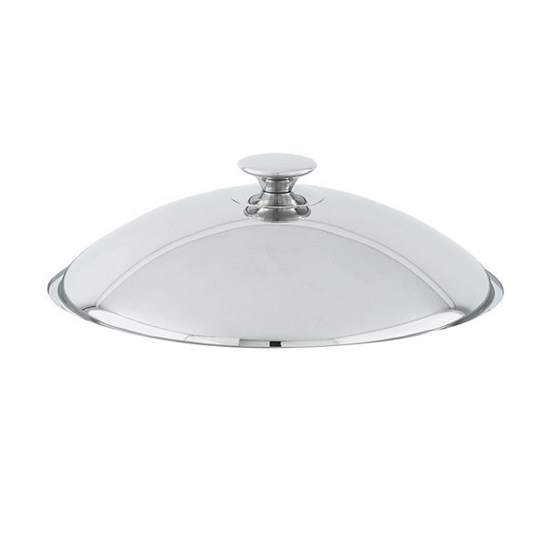 Vollrath 46534 Stainless Steel 6 Qt. Orion Chafer Cover Main Image 1