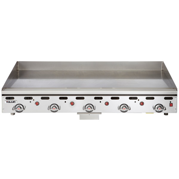 """Vulcan 960RX-30 Natural Gas 60"""" Griddle with Snap-Action Thermostatic Controls and Extra Deep Plate - 135,000 BTU"""
