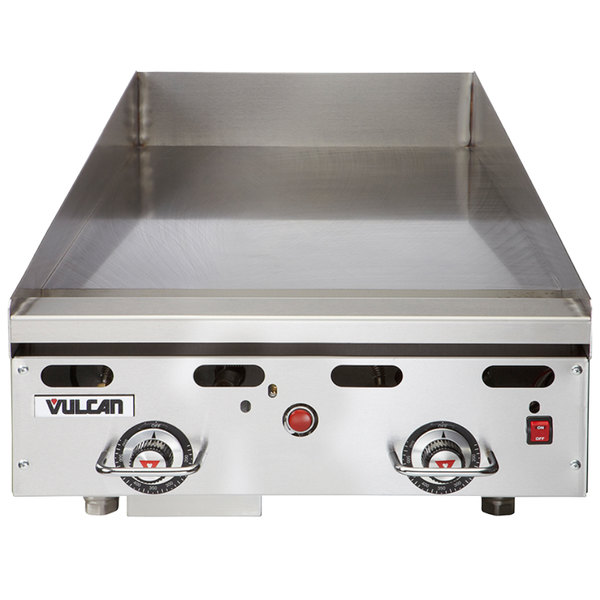 """Vulcan 924RX-30 Liquid Propane 24"""" Griddle with Snap-Action Thermostatic Controls and Extra Deep Plate - 54,000 BTU Main Image 1"""