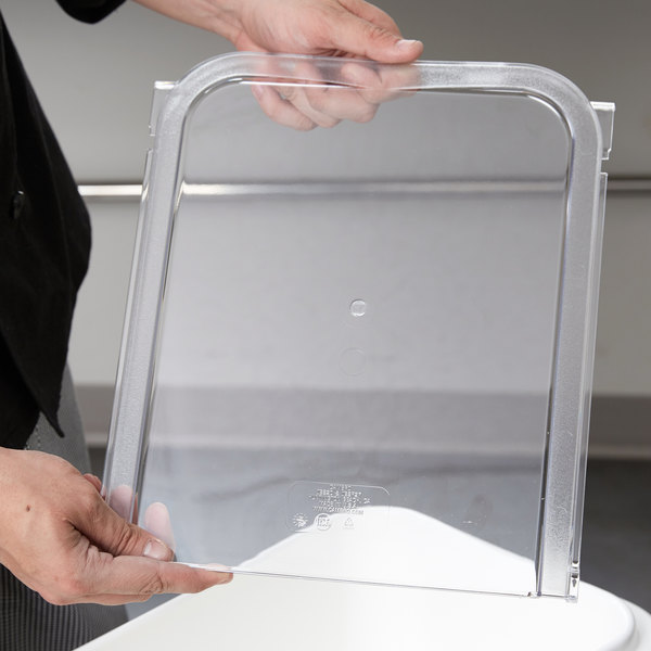 Cambro 60433 Lid Back Section for IBS20 and IBSF27 Ingredient Bins