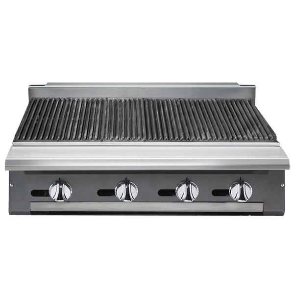 """Vulcan VCBB48-LP V Series Liquid Propane 48"""" Radiant Gas Modular Charbroiler - 130,000 BTU"""
