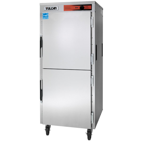 Vulcan VPT15SL Pass-Through Full Size Insulated Heated Holding Cabinet with 6 Shelves - 120V