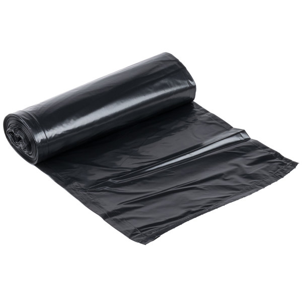 "Li'l Herc Repro Trash Bag 20-30 Gallon 0.9 Mil 30"" x 36"" Low Density Can Liner - 250/Case"