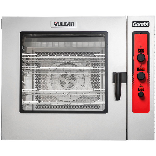 Vulcan Abc7e 240 Half Size Electric Combi Oven 240v 3 Phase 24 Kw