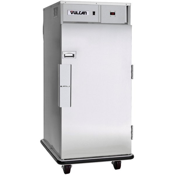 Vulcan CBFTHS Half Size Correctional Insulated Heated Holding Cabinet with Bumper - 120V