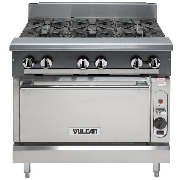 Vulcan V6B36C-NAT V Series Natural Gas 6 Burner 36\