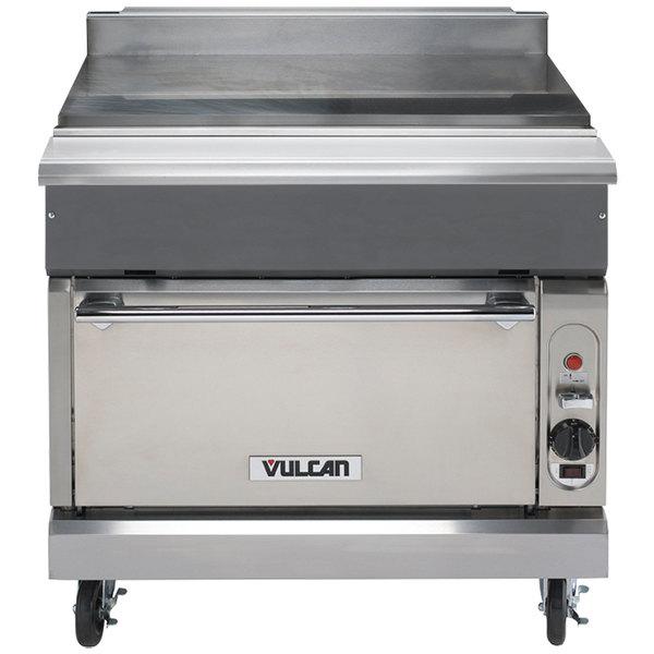 "Vulcan VWT36S-LP V Series Liquid Propane 36"" Spreader Cabinet with Standard Oven - 50,000 BTU"