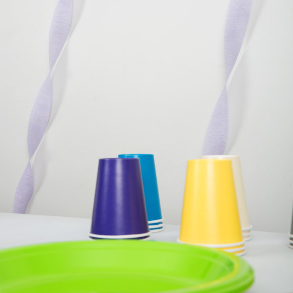Creative Converting 078490 81' Luscious Lavender Purple Streamer Paper - 12/Case