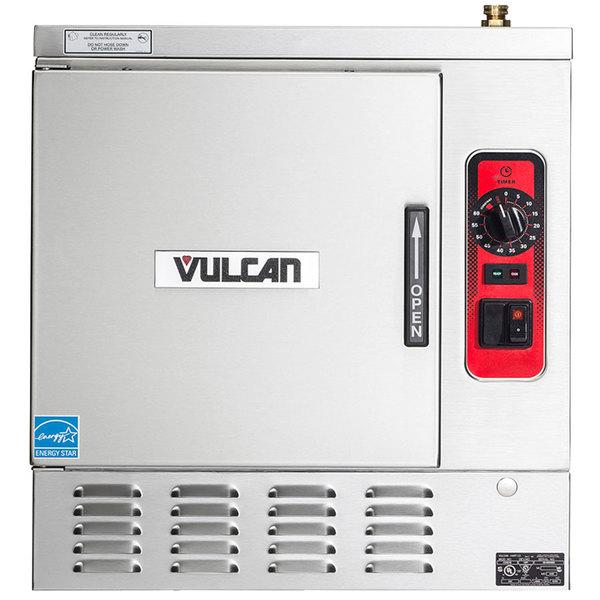 Vulcan C24EA5-1300 LWE 5 Pan Electric Countertop Convection Steamer - 208V, 15 kW