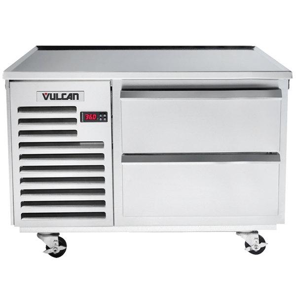 "Vulcan VSC36 36"" 2 Drawer Refrigerated Chef Base"