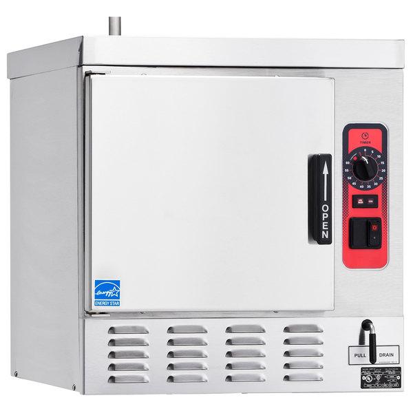 Vulcan C24EO5-240/3 5 Pan Boilerless / Connectionless Electric Countertop Steamer - 240V, 12 kW