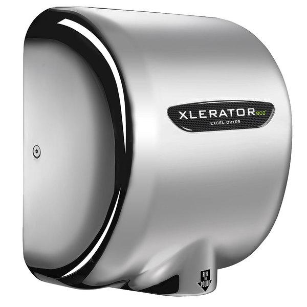 Excel XL-C-ECO XLERATOReco® Chrome Plated Cover Energy Efficient No Heat Hand Dryer - 208/277V, 500W Main Image 1