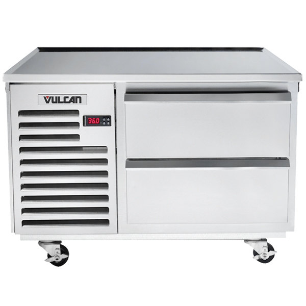 "Vulcan ARS36 36"" 2 Drawer Refrigerated Chef Base Main Image 1"