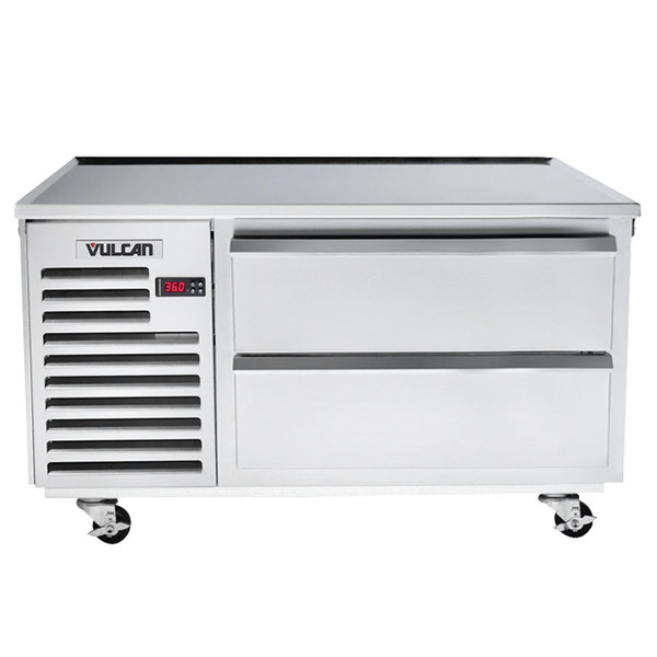 "Vulcan ARS48 48"" 2 Drawer Refrigerated Chef Base Main Image 1"