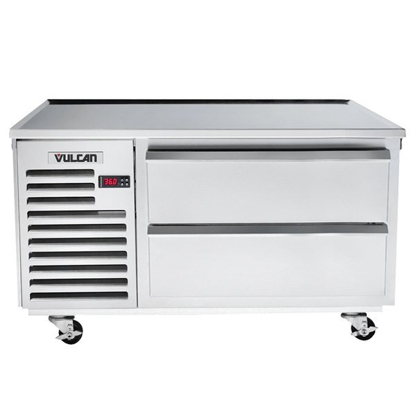 """Vulcan VR48 48"""" 2 Drawer Remote Cooled Refrigerated Chef Base"""