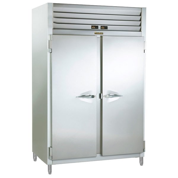 Traulsen ADT232NUT-FHS 38.5 Cu. Ft. Two Section Narrow Reach In Refrigerator / Freezer - Specification Line Main Image 1