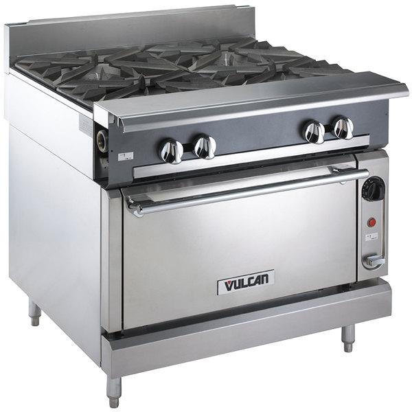 Vulcan V4B36C-LP V Series Liquid Propane 4 Burner 36\